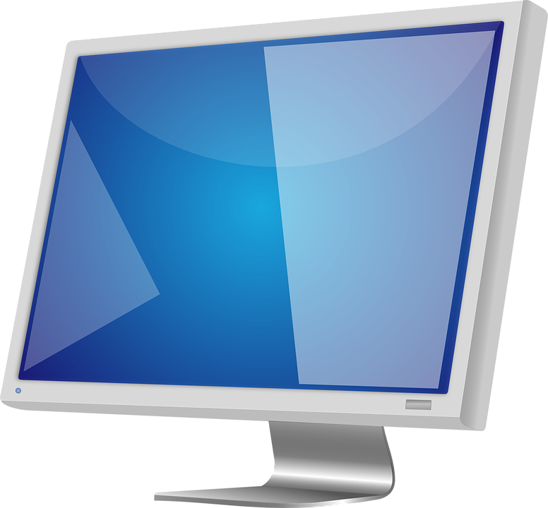 776x720 Computer Monitor Clipart Lcd Monitor Screen Free Vector Graphic