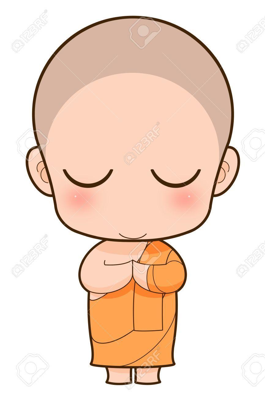 Monk Clipart