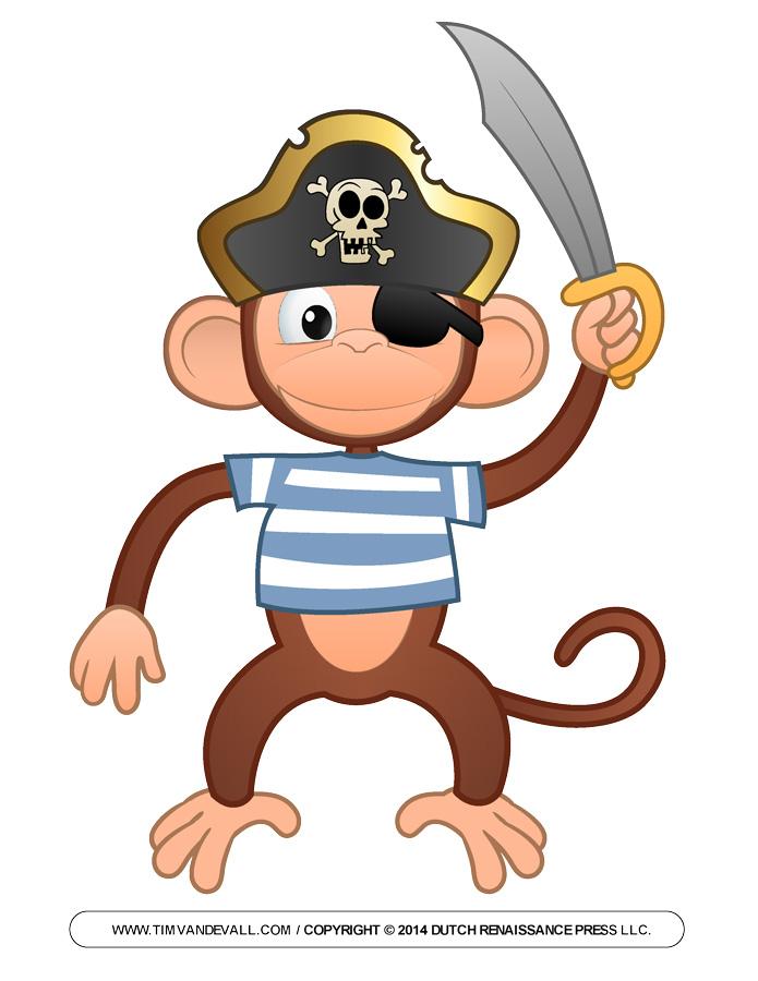 695x900 Pirate Clip Art