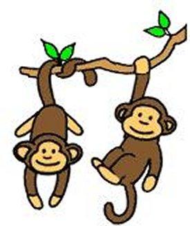 275x328 Swinging Monkey Clipart Clipart Panda