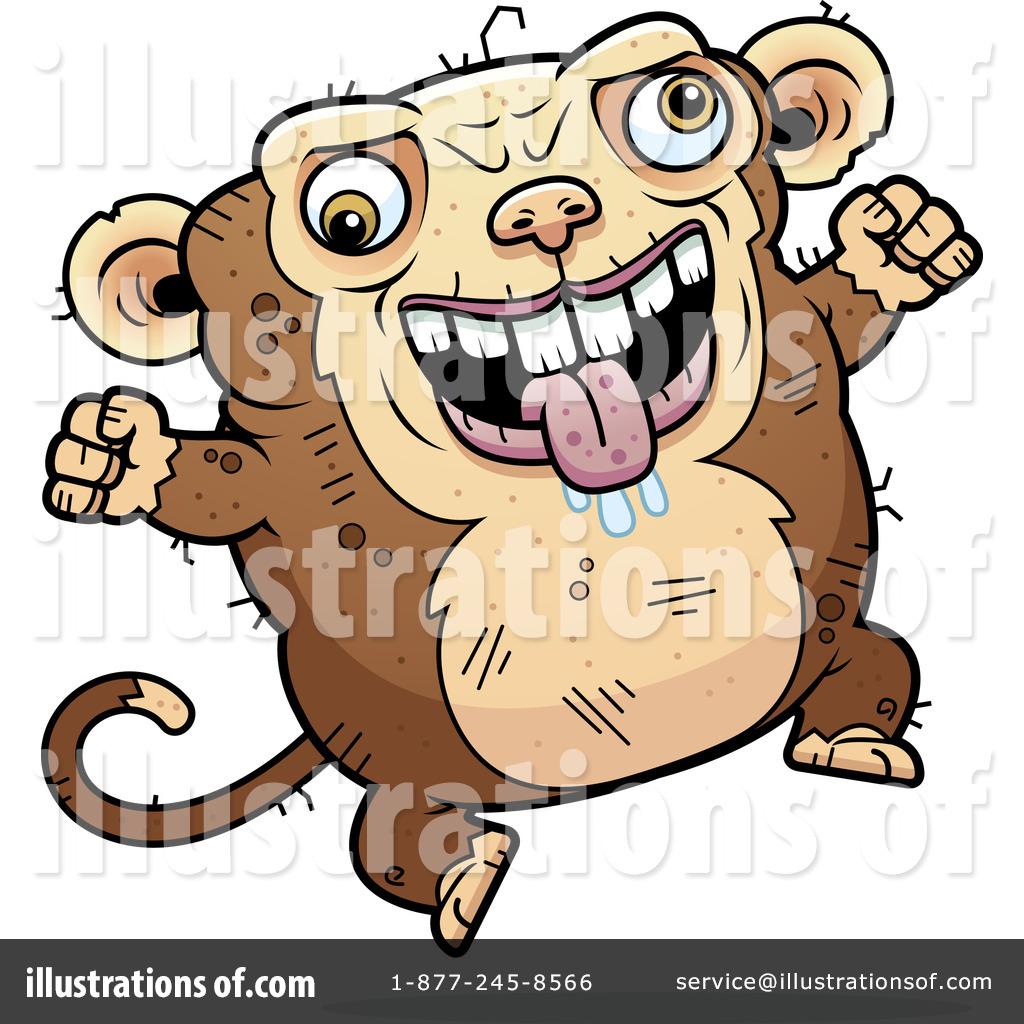 1024x1024 Ugly Monkey Clipart