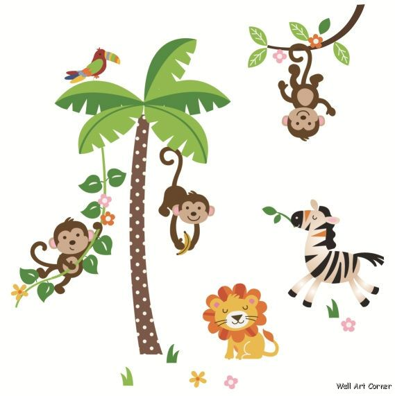 569x571 Clipart Of Monkey In Tree Spider Pencil And Color – paberish.me