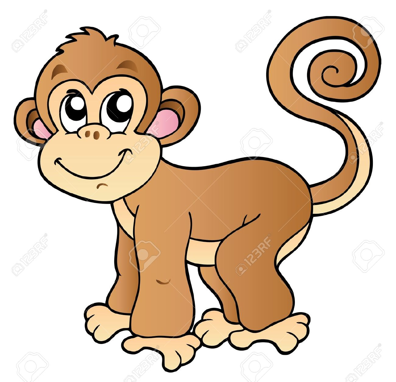 1300x1253 Cute Monkey Pictures Cartoon Group (65+)