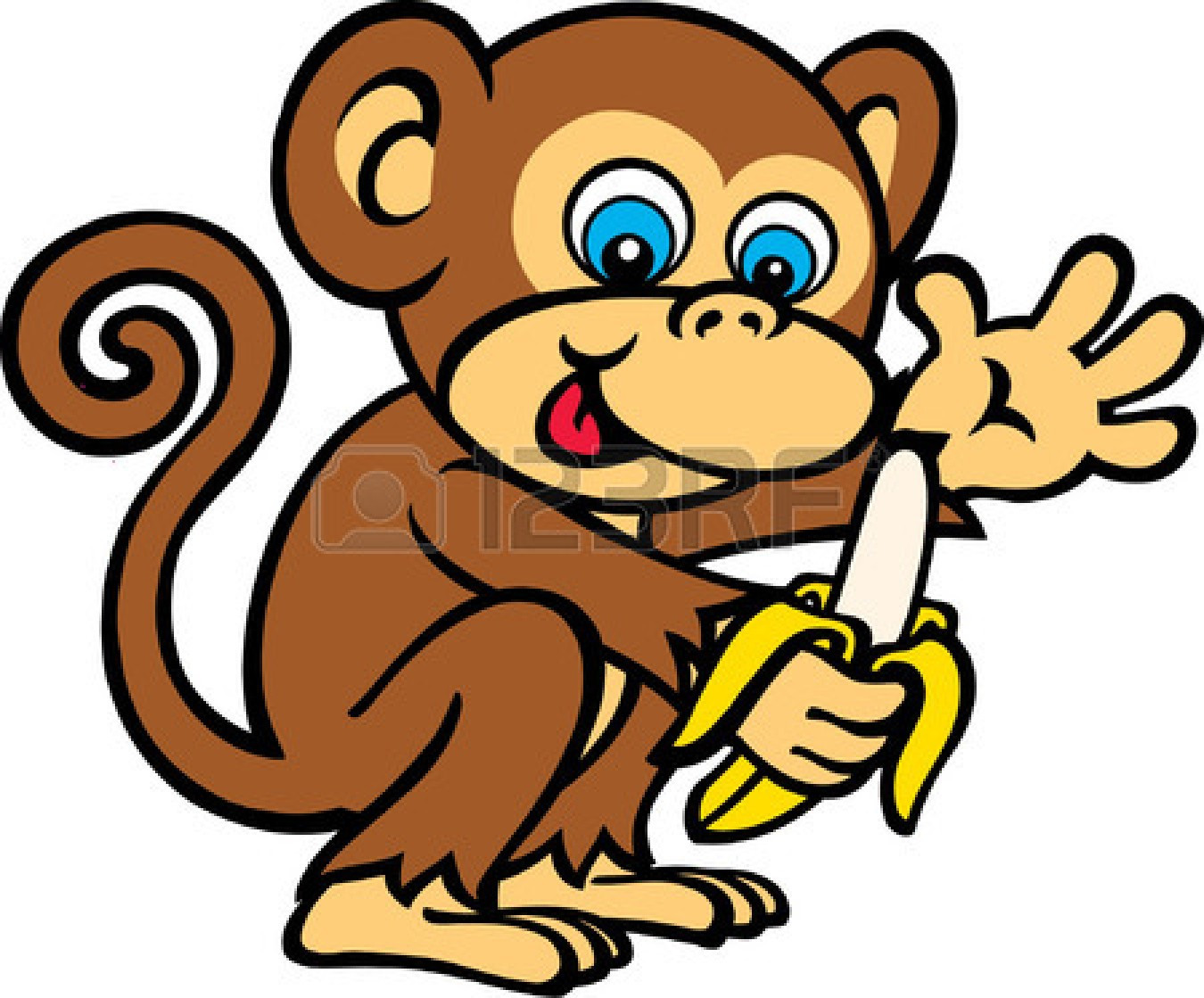 1350x1119 Free Monkey Clipart thatswhatsup
