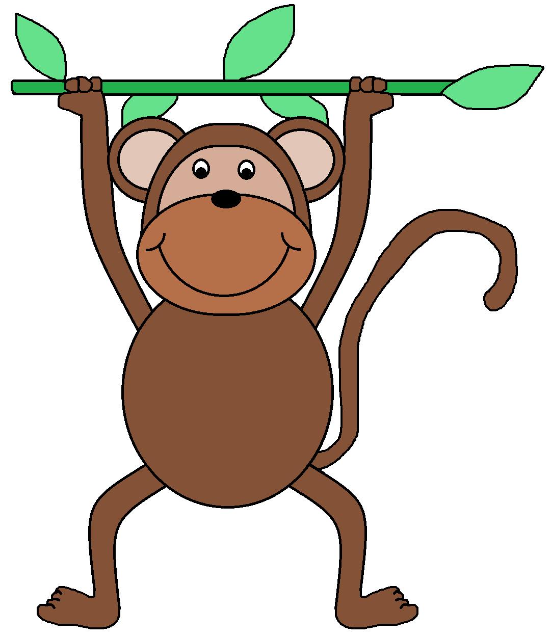 1081x1250 Monkey clip art for teachers free clipart images 4