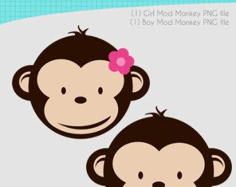 340x270 Clip Art Baby Monkey Face Clipart