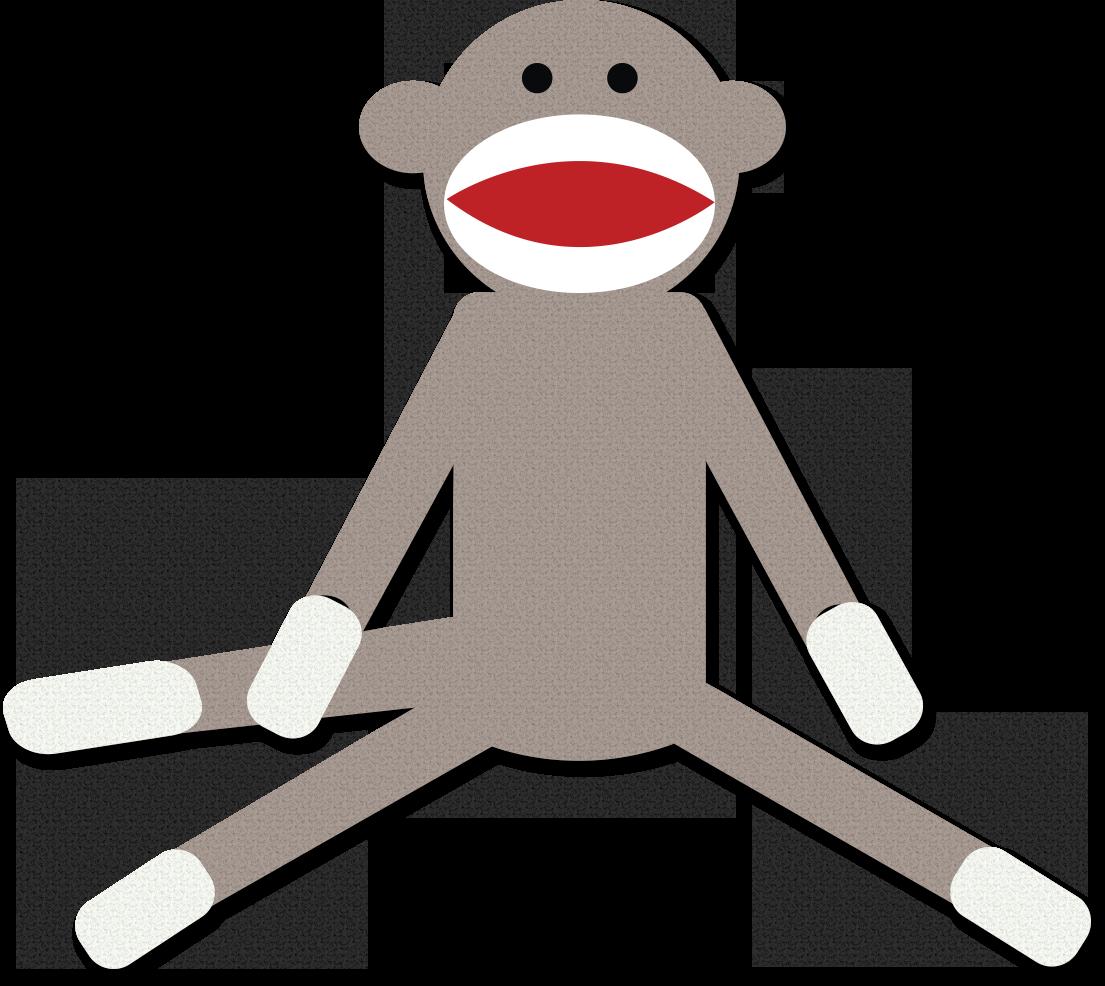 1105x986 Clip Art Sock Monkey Clip Art