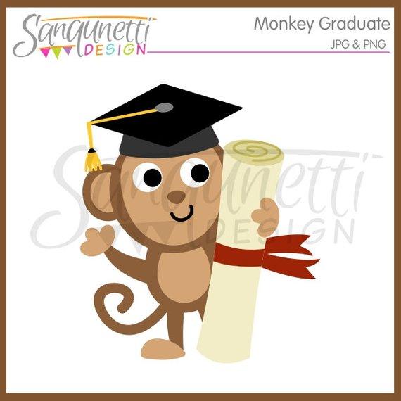 570x570 Graduation Clipart, Graduation Clip Art, Graduation Cap, Monkey