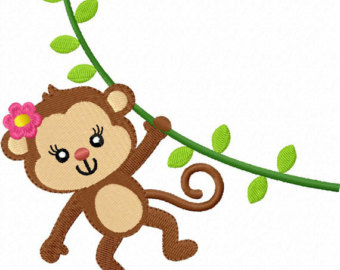 340x270 Image Of Cute Monkey Clipart