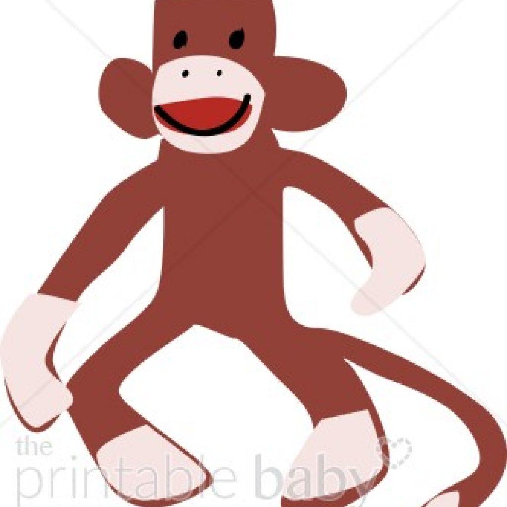 1024x1024 Sock Monkey Clipart