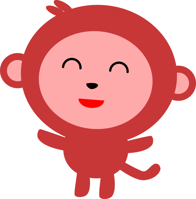 785x800 Collection Of Simple Monkey Clipart High Quality, Free