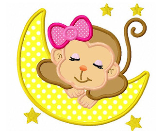 340x270 Baby Girl Monkey Clipart – Free Clip Art Download