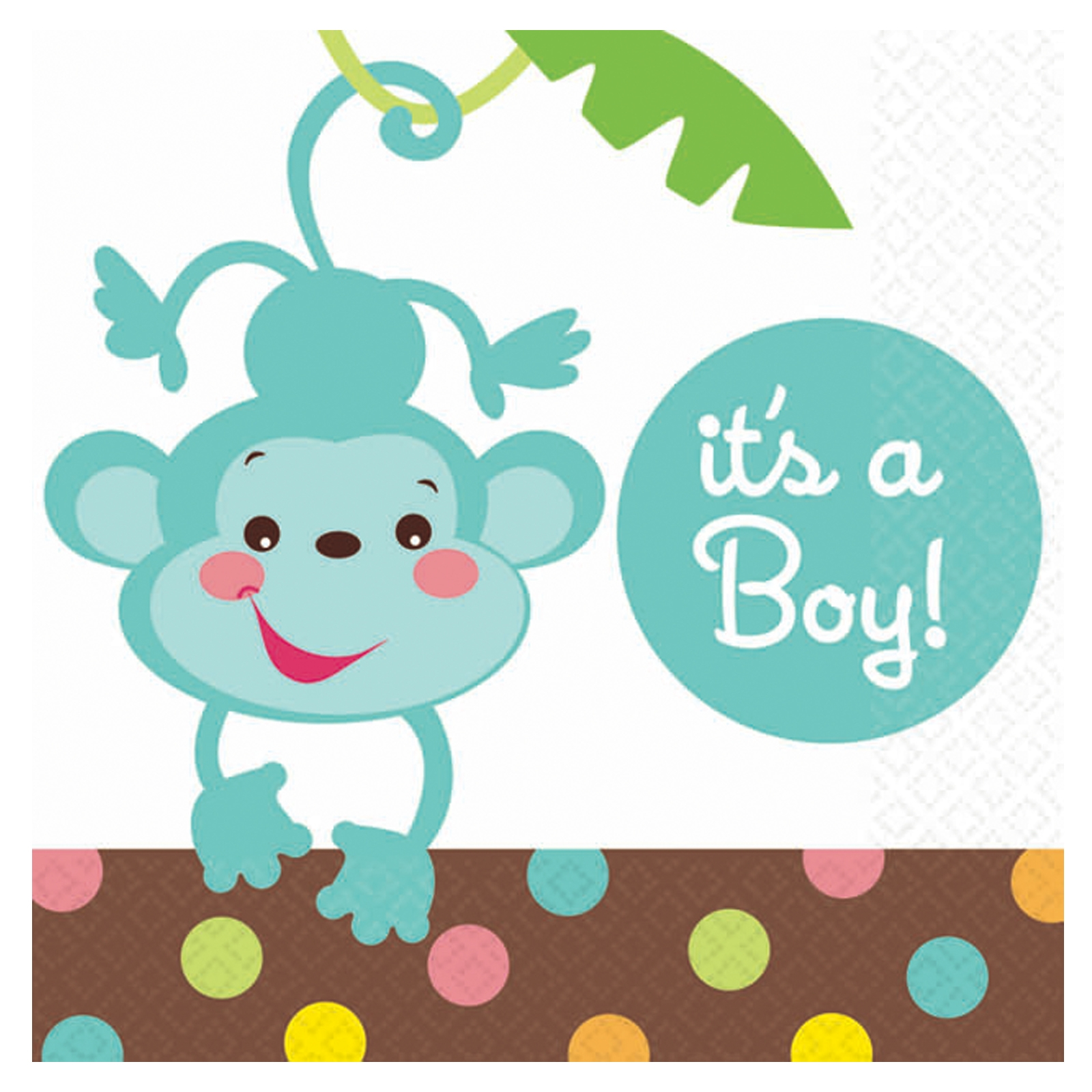 1600x1600 Boy Baby Monkey Clipart