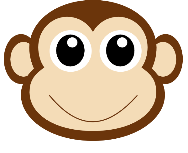 600x491 Monkey 1 Clip Art