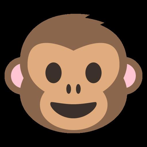 512x512 Monkey Face Emoji Vector Icon Free Download Vector Logos Art
