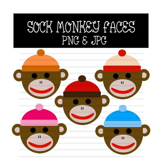 570x570 Sock With Faces Clipart