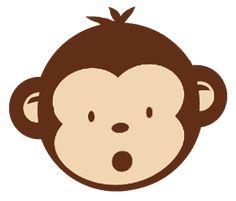 236x201 Girl Monkey Clip Art Babyface 128 Birthday Invitations