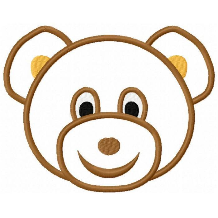 700x700 Bear Face Clipart Amp Look At Bear Face Clip Art Images