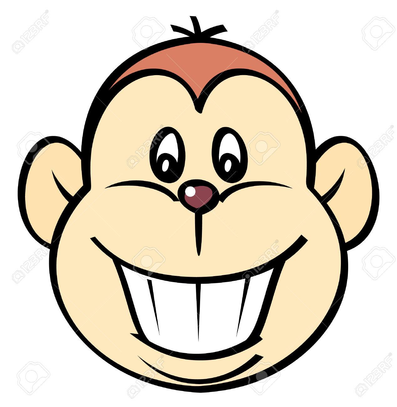 1268x1300 Clipartist Net Clip Art Monkey Face 2012 June Beautiful Clipart