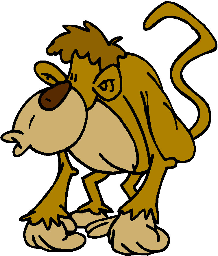 754x884 Funny Monkey Clip Art Clipart Panda