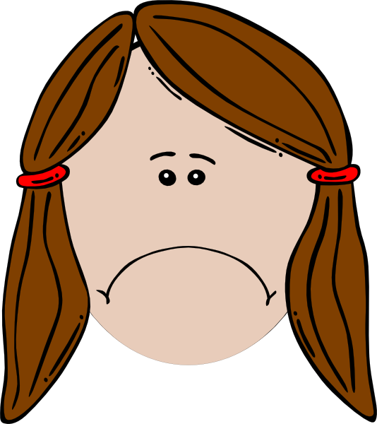 534x600 Sad Clipart Monkey Face