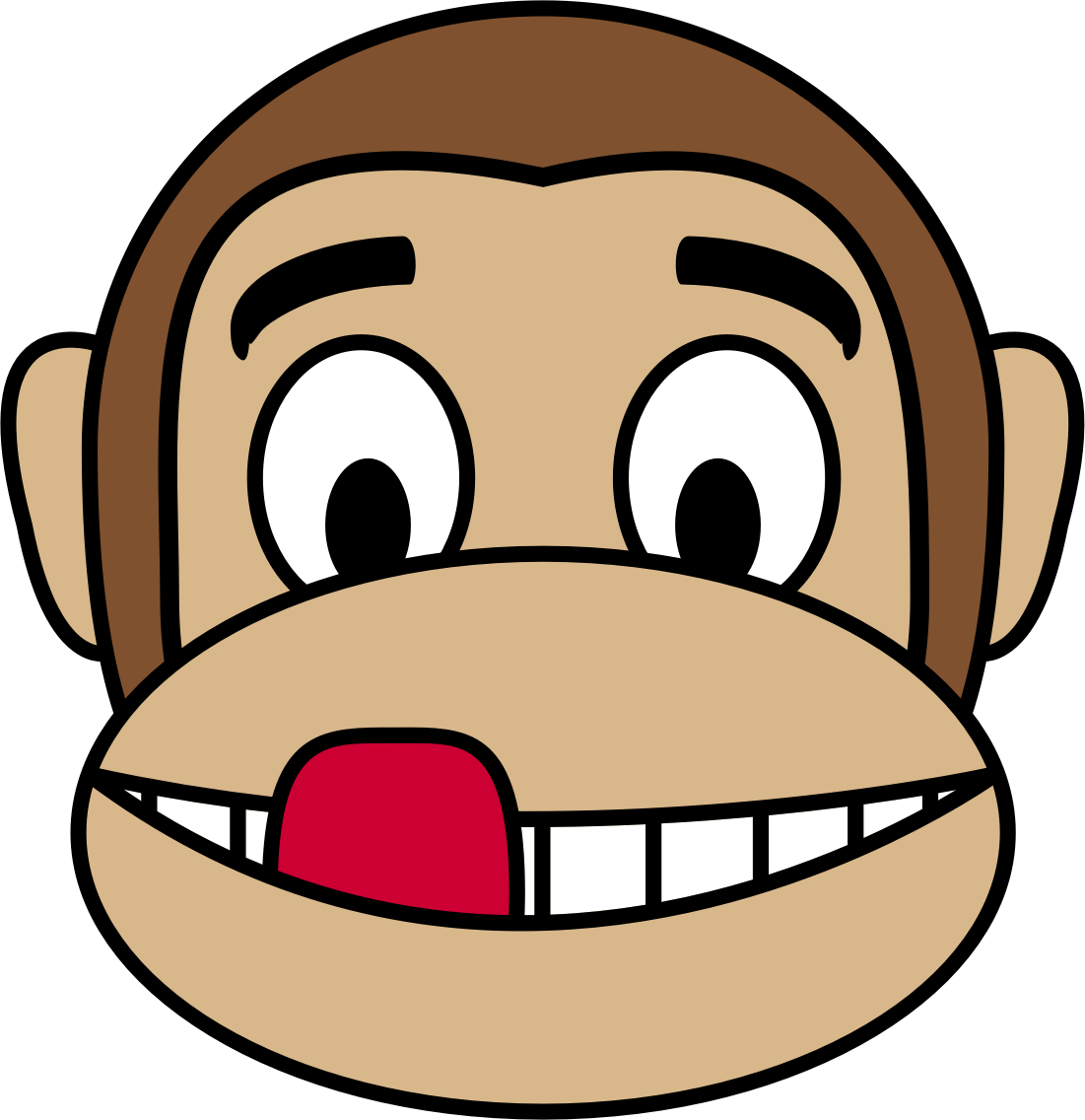 1101x1136 Collection Of Monkey Emoji Clipart High Quality, Free