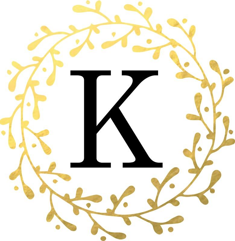 779x800 Letter K Monogram