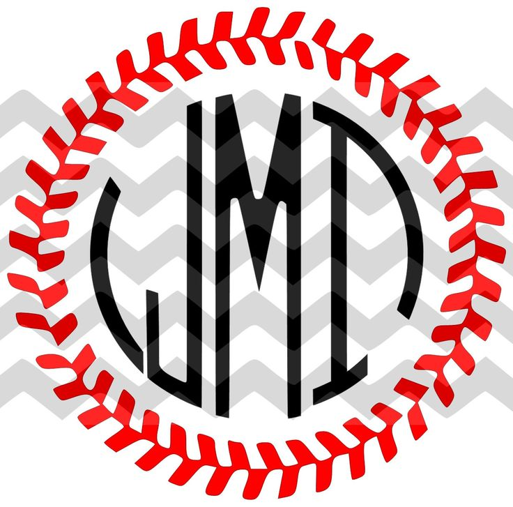 736x727 Baseball Clipart Monogram