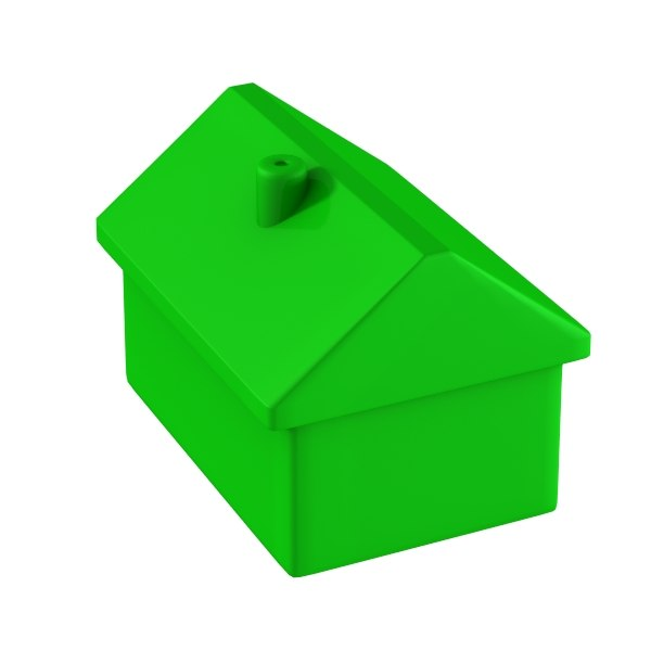 600x600 Monopoly House Clipart Clip Art Library