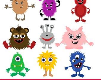 340x270 Little Monster Clipart Monsters Clip Art Monsters Vector