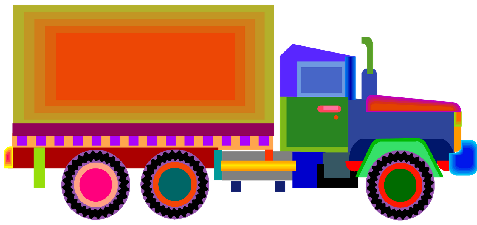 1600x757 Complete Truck Pictures For Kids Free Download Clip Art