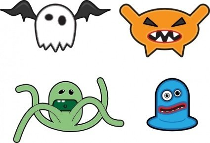425x289 Monster Clip Art Download 128 Clip Arts