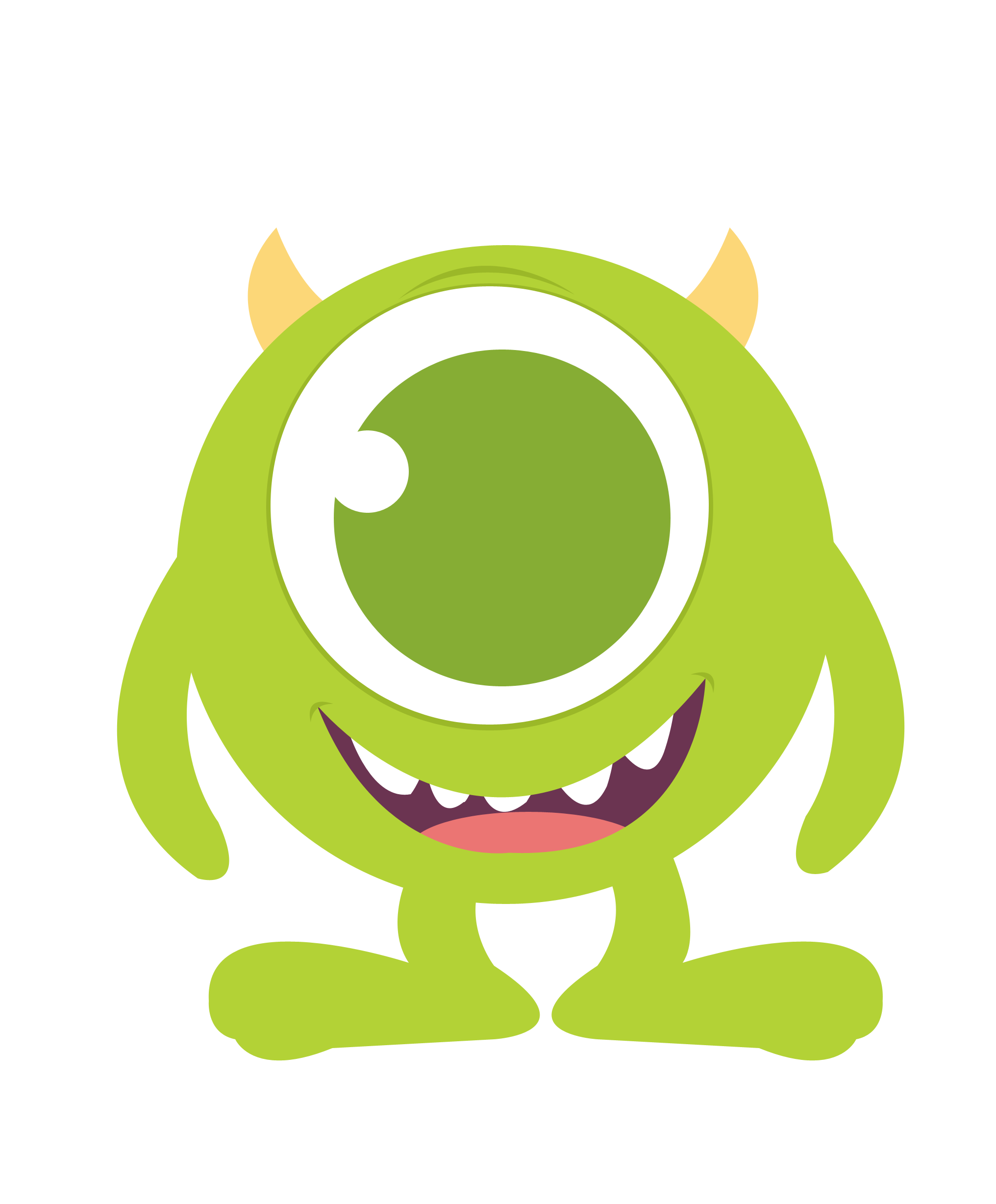 2032x2456 Baby Monster Cliparts Free Download Clip Art