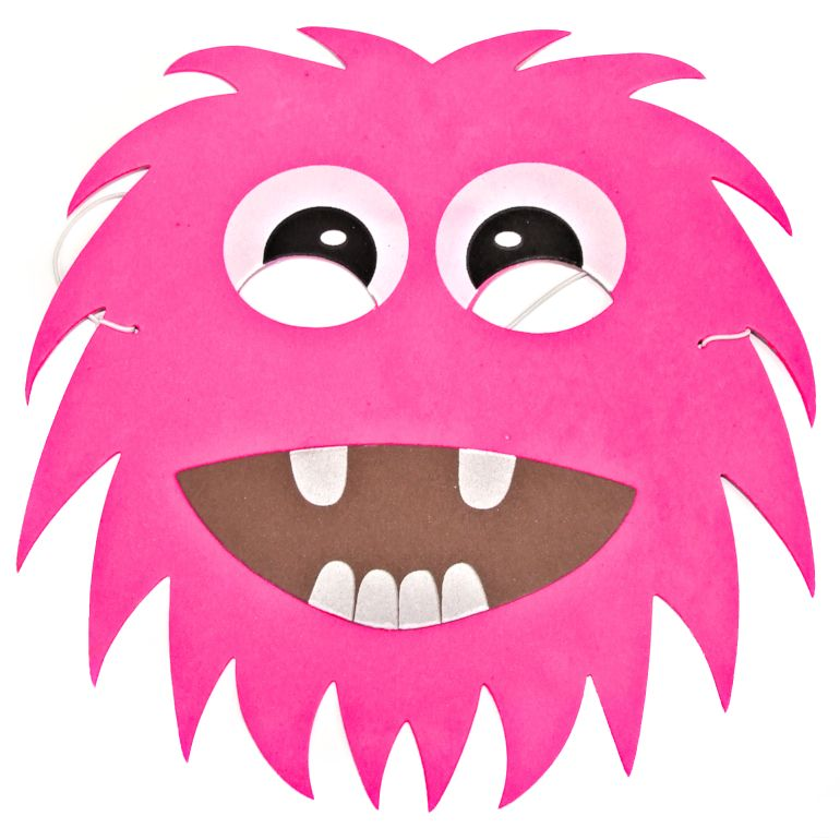 Monster Face Clipart