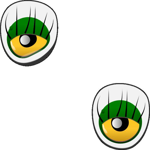 600x599 Dogface Jim Monster Eye Sticker Clip Art