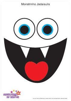 236x336 Monster Eyes Amp Mouths Clip Art Digital Clipart, Instant Download
