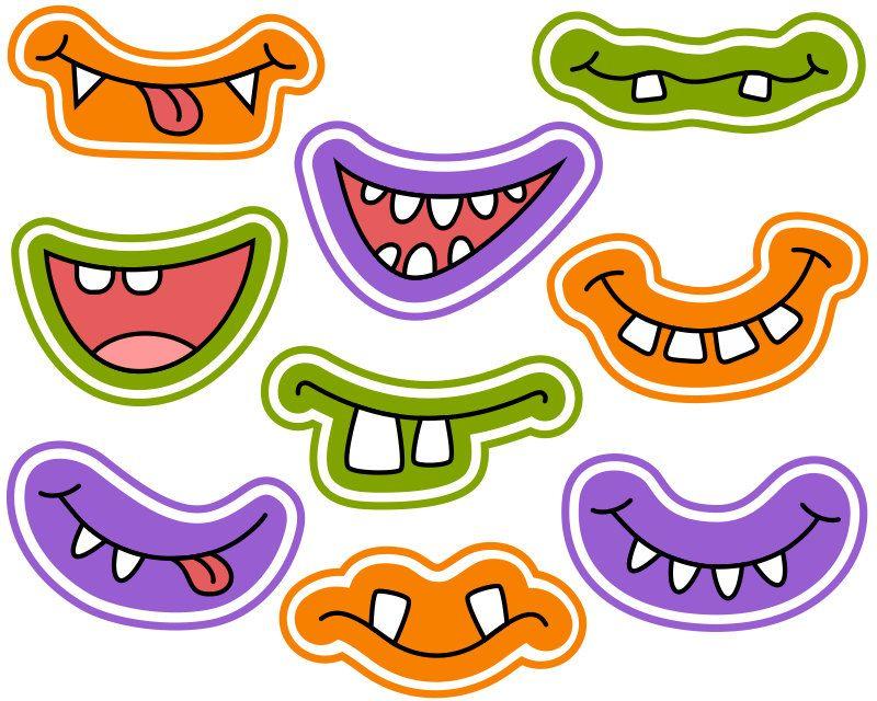 800x640 Popular Items For Monster Face On Etsy El Cuerpo