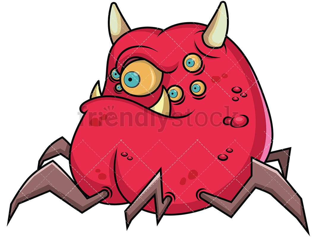 1067x800 Charming Scary Monster Pictures 26 Cartoon Face Vector 16149861