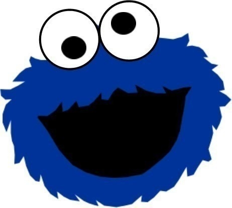 462x414 Clip Art Cookie Monster Face Cut Out I6egq1