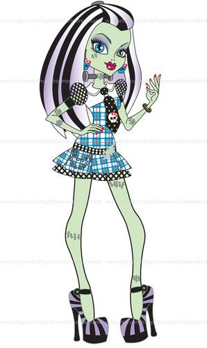 298x500 Monster High Girls Clipart