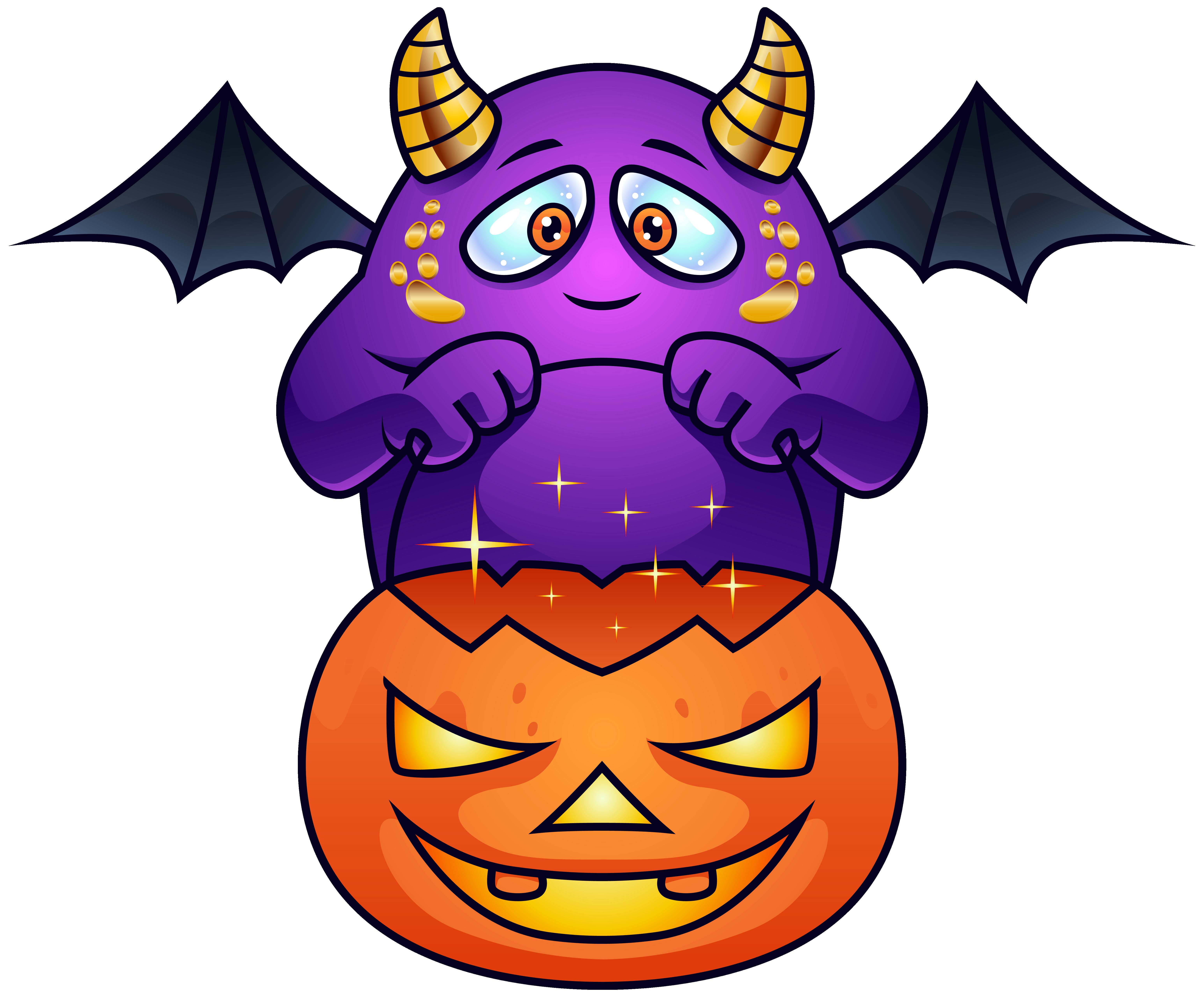 6185x5120 Purple Halloween Monster Png Clipart Imageu200b Gallery Yopriceville