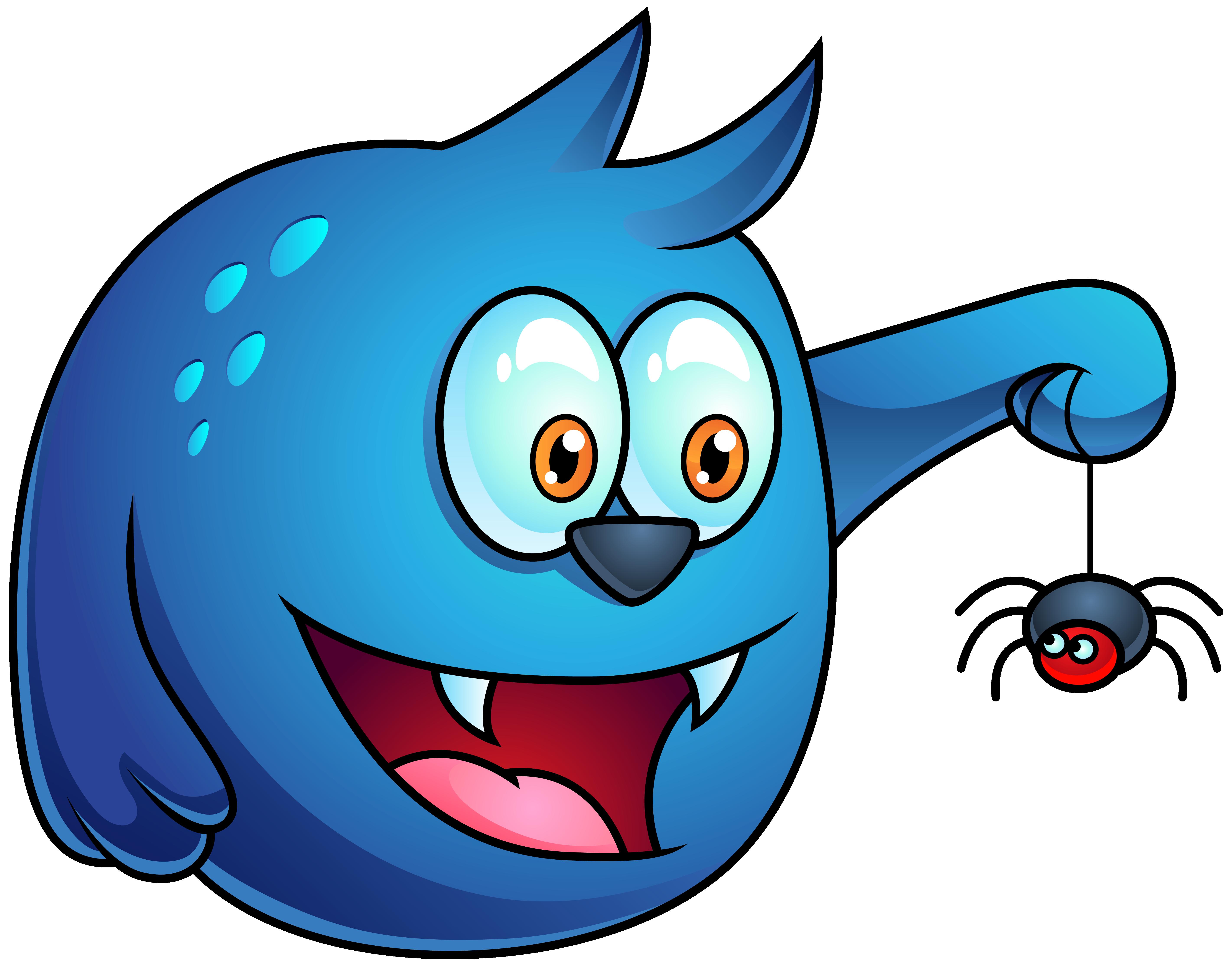 5685x4458 Blue Halloween Monster Png Clipart Imageu200b Gallery Yopriceville