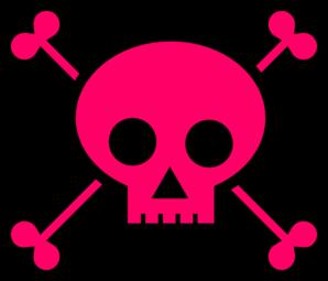 298x255 Skull With Crossbones Clip Art