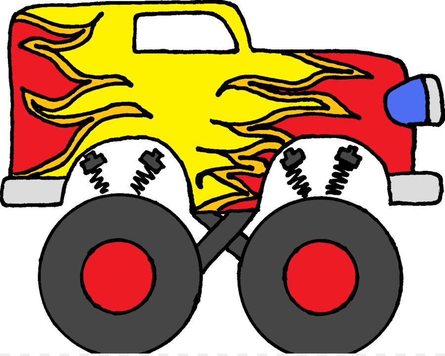 900x720 Pickup Truck Car Monster Truck Bigfoot Clip Art