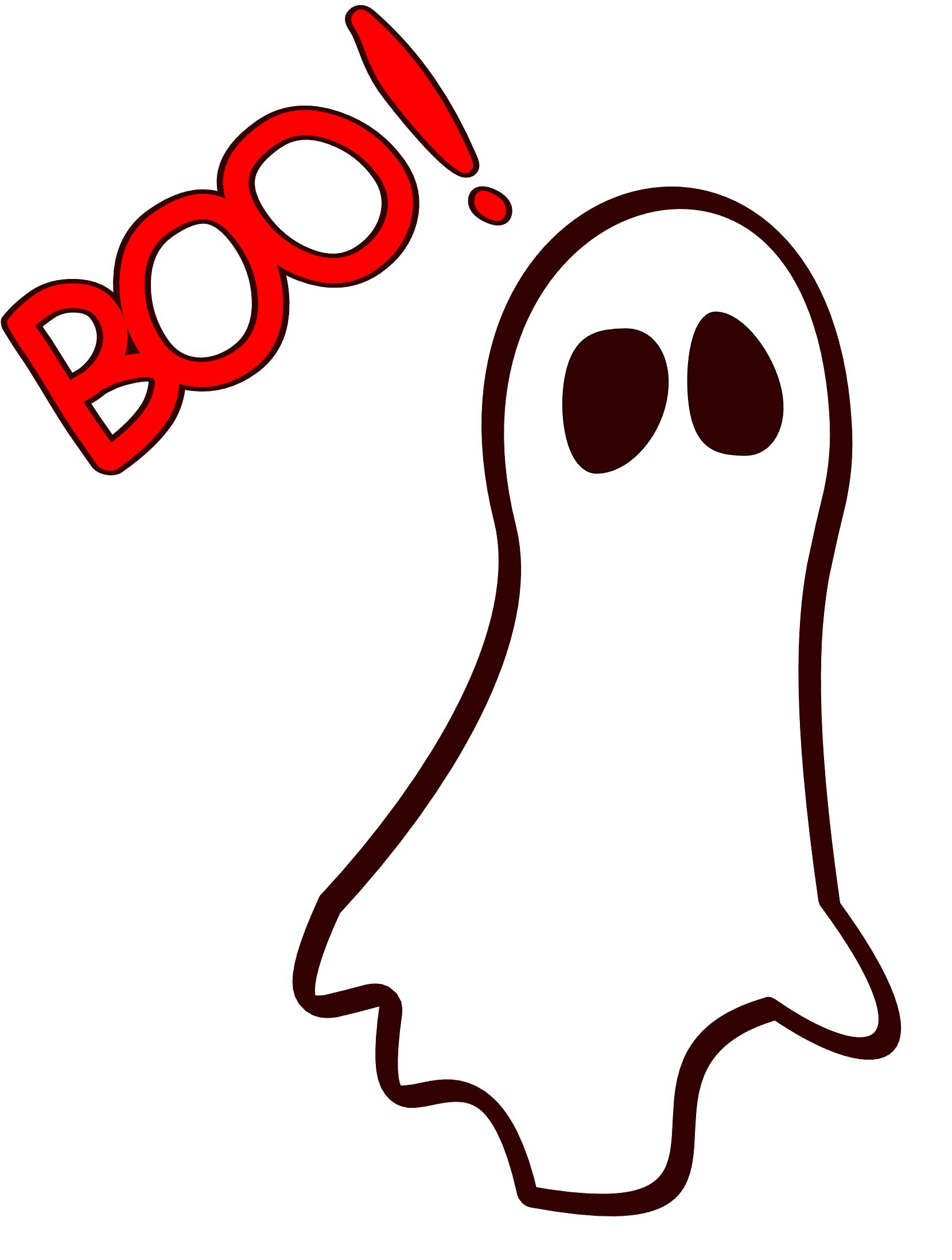 1659x2195 Collection Of Boo Ghost Clipart High Quality, Free Cliparts