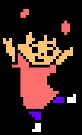 280x460 Monsters Inc (Boo) Pixel Art Maker