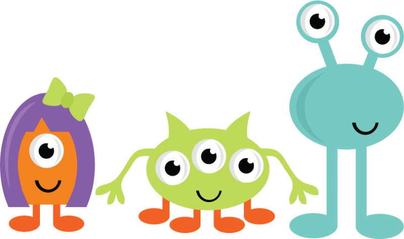 800x473 Fluffy Clipart Group Monster