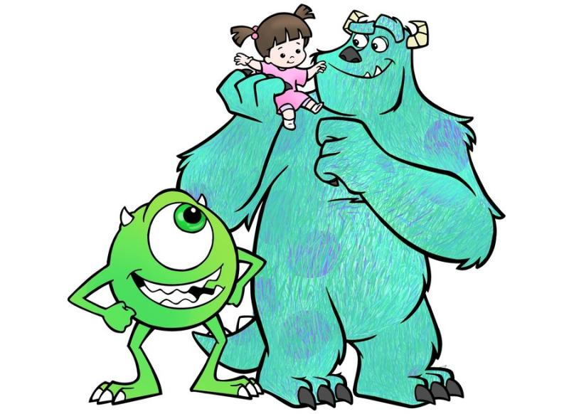 800x582 Monsters Inc Clipart