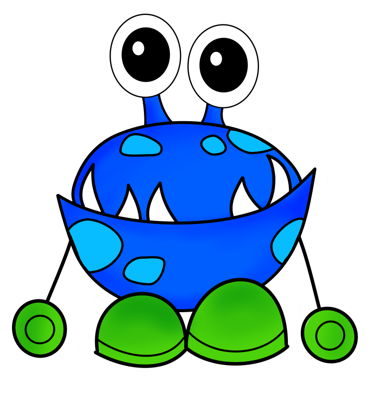 monsters inc clipart at getdrawings com free for personal use rh getdrawings com cute clipart monsters clipart monsters black and white