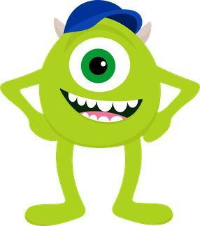 286x322 Monsters Mike 03 12 15 01 Clipart